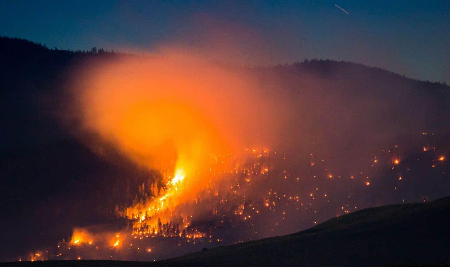 Plus de 200 incendies de forêt font rage en Colombie-Britannique