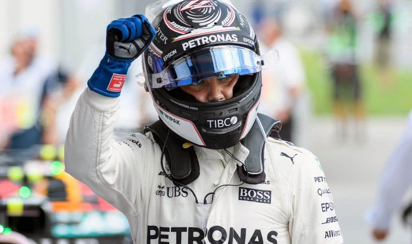 Valtteri Bottas remporte le Grand Prix d'Autriche
