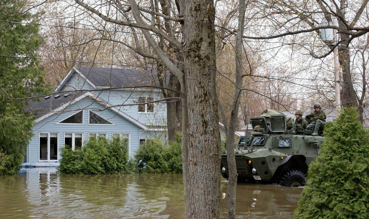 Des sinistrés des inondations printanières déversent leur colère