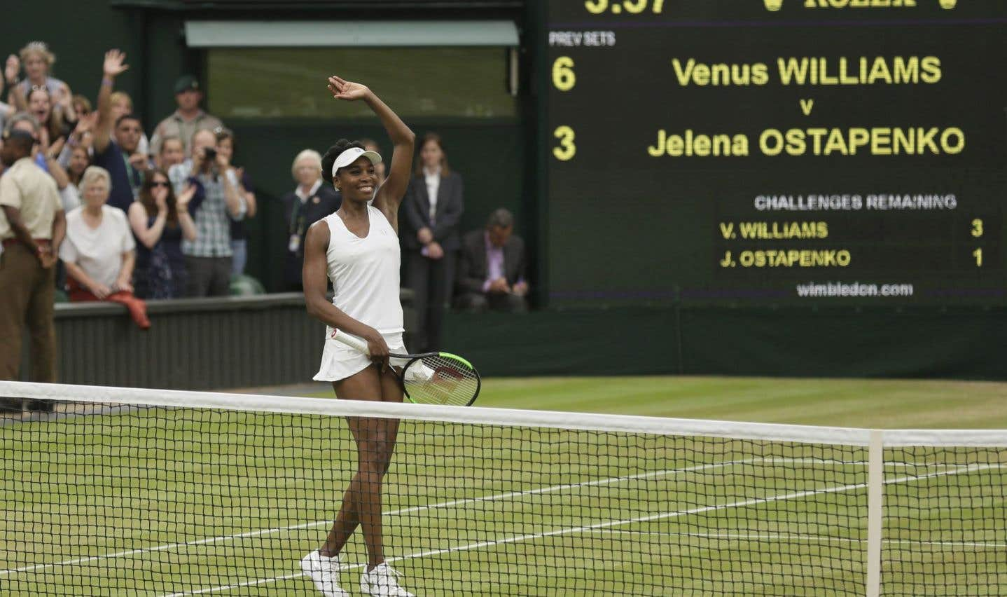 Wimbledon: Venus Williams va miser sur l'expérience contre Johanna Konta