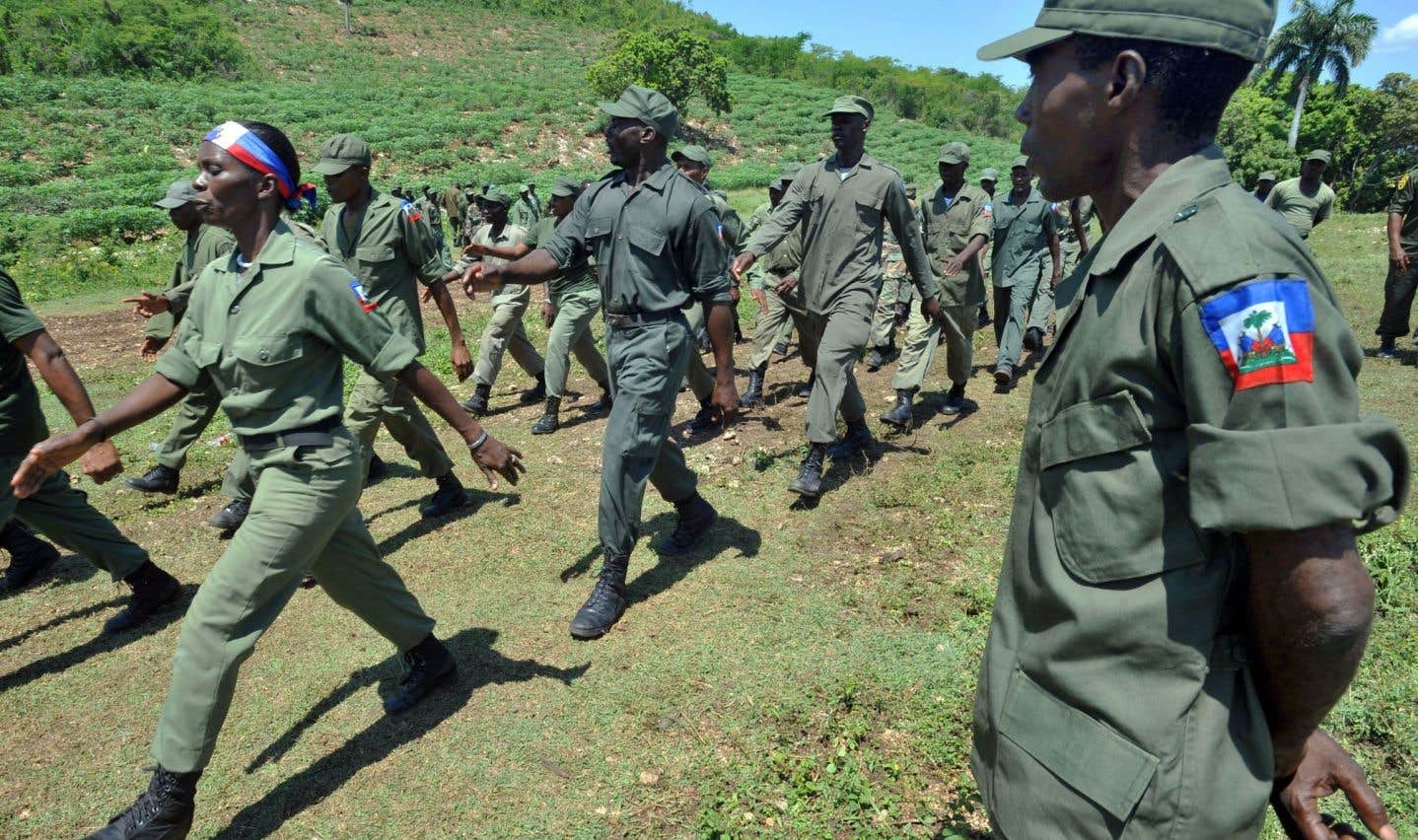 La reformation de l'armée en Haïti suscite des inquiétudes