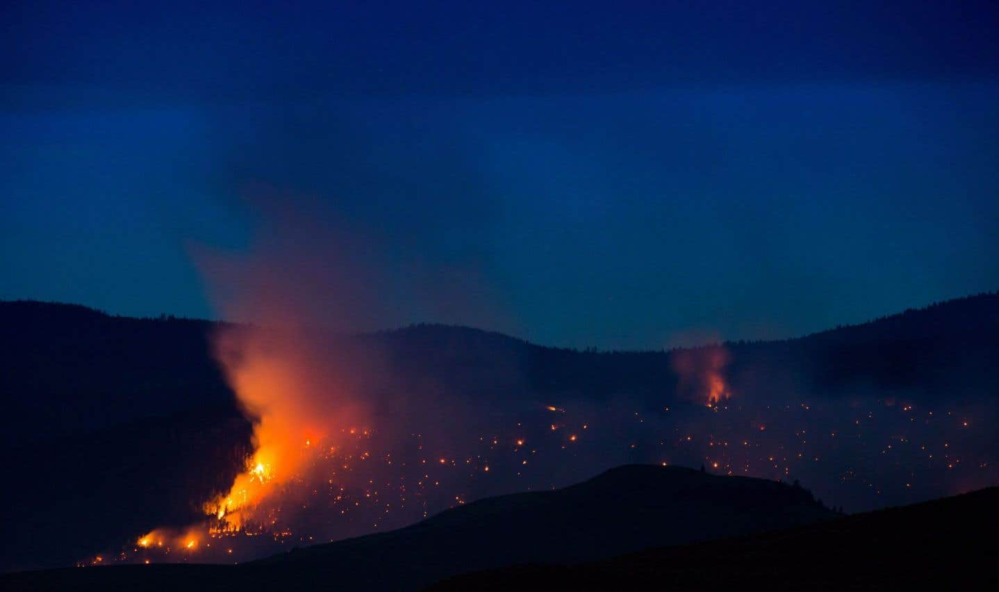 Colombie-Britannique: des pompiers québécois envoyés en renfort
