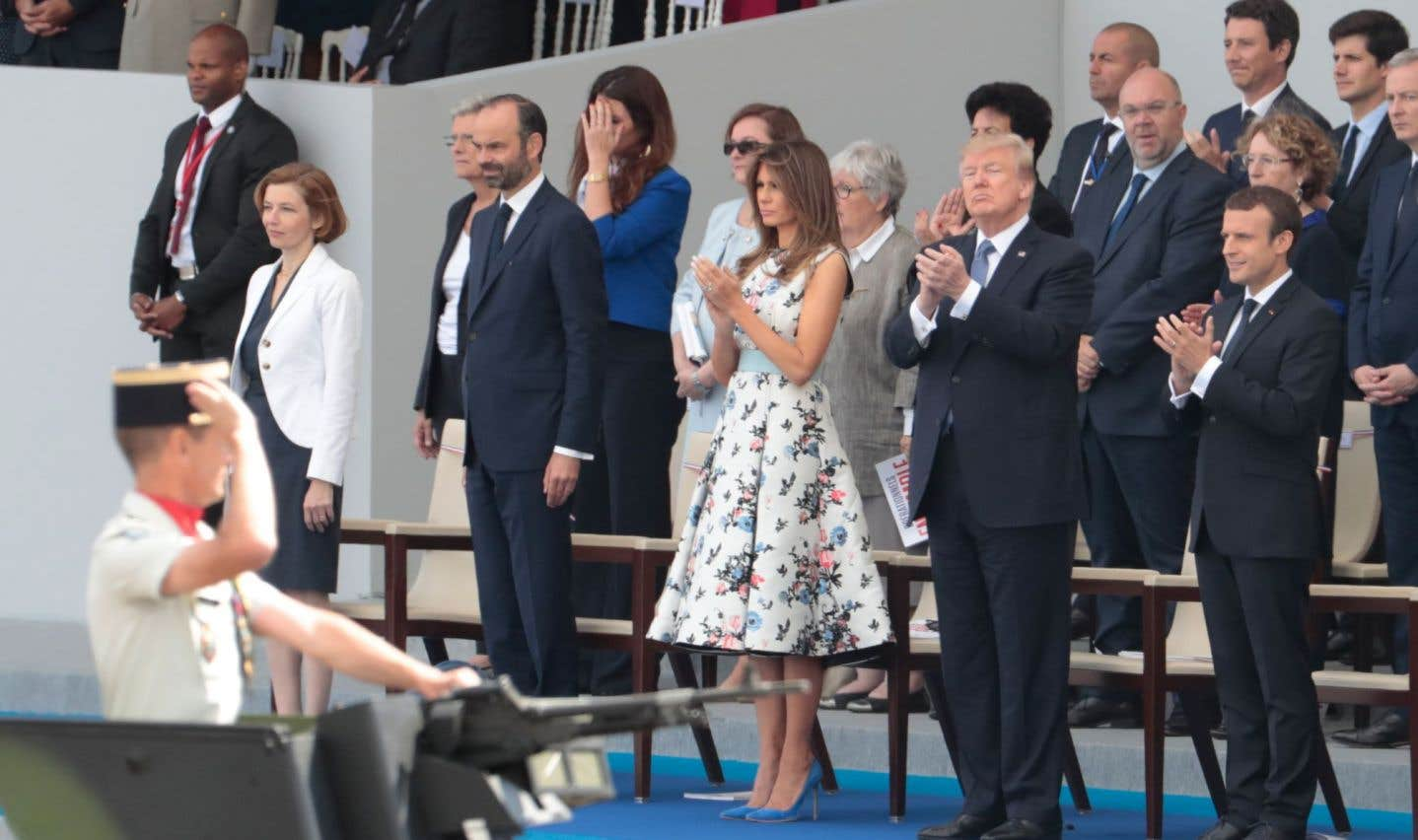 L'amitié entre la France et les États-Unis saluée