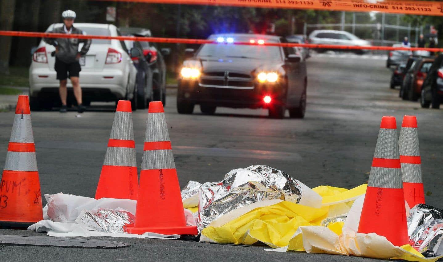 Le tragique accident est survenu sur la rue Bélanger, à l'intersection de la 6eAvenue.