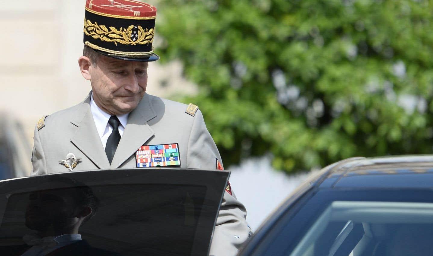 Le chef d'état-major des armées françaises, Pierre de Villiers