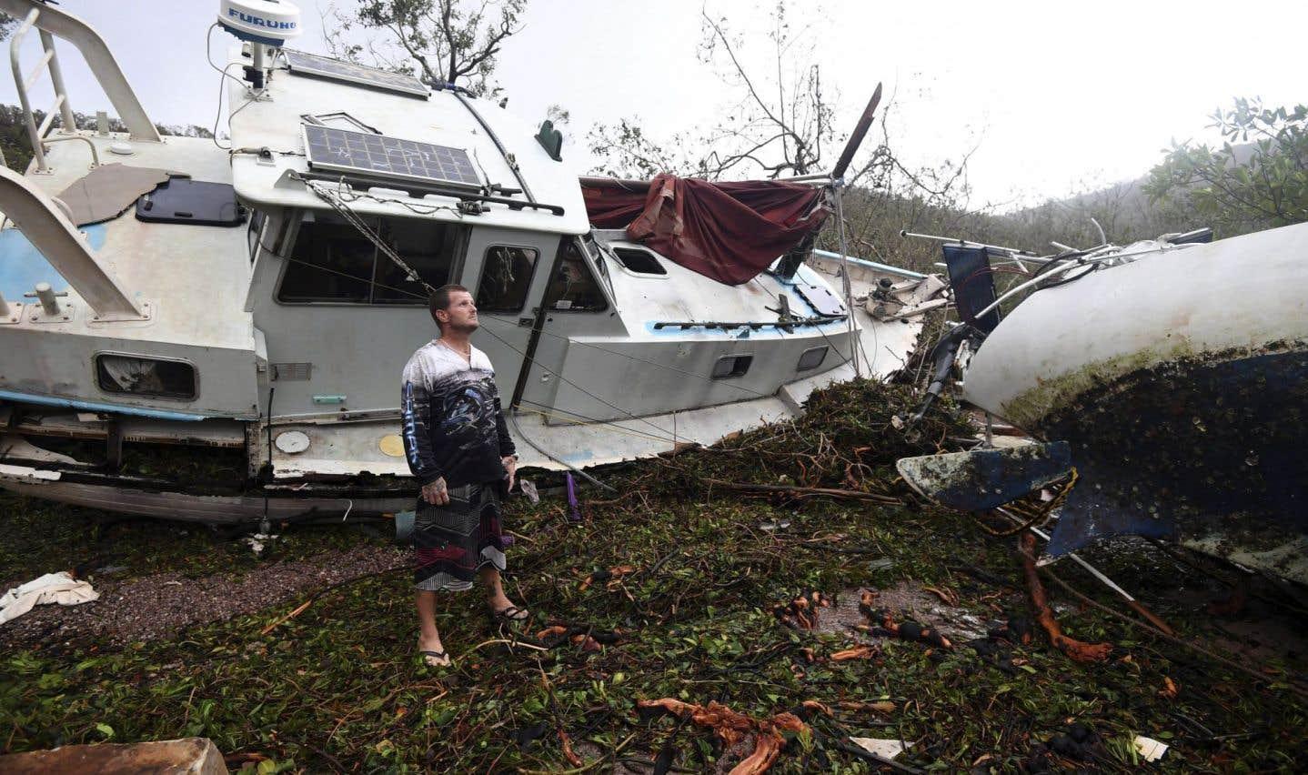 Moins de dégâts et moins de morts  dus aux catastrophes naturelles  au premiersemestre de 2016