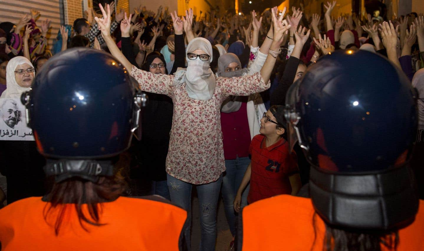 Marche de contestation sous haute tension dans le Rif marocain