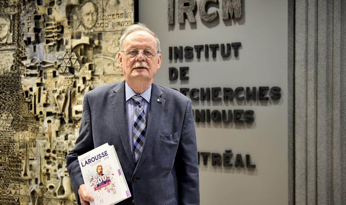 Âgé de 81 ans, Michel Chrétien travaille toujours à l'avancée de la science dans le domaine de l'endocrinologie.