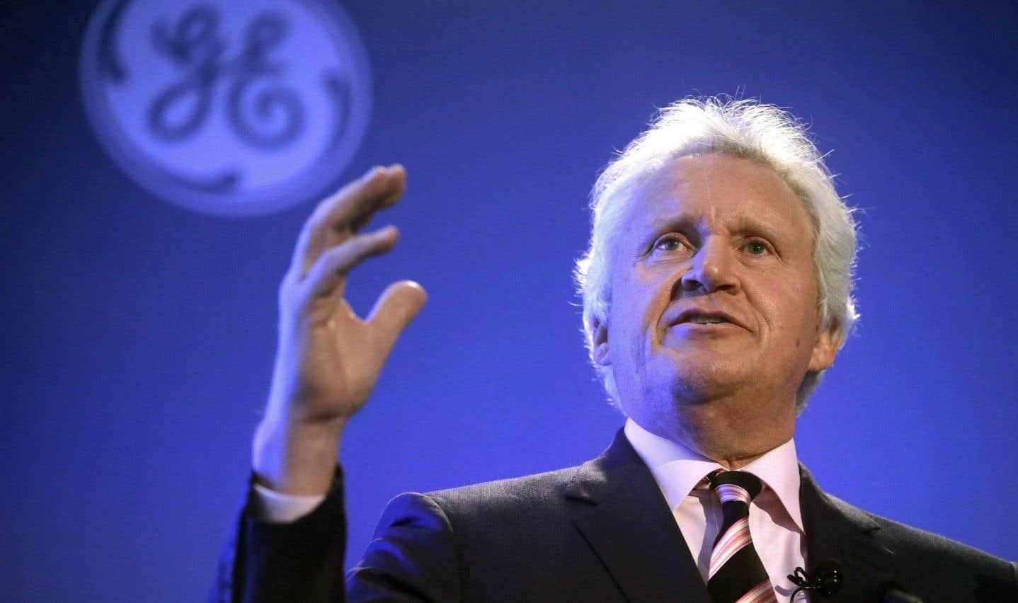 Les profits de GE chutent et le patron part
