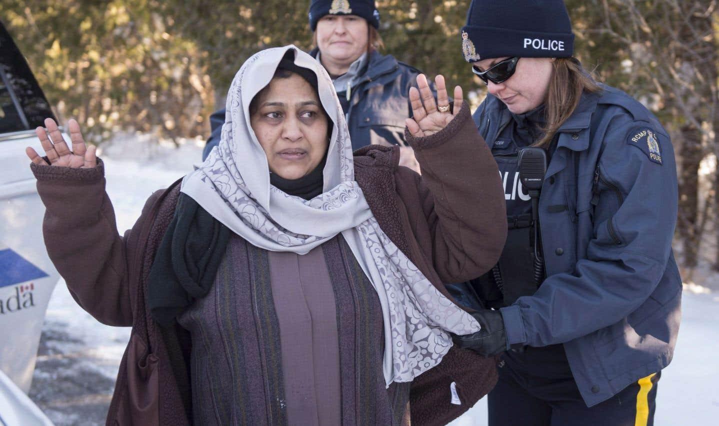 Les arrestations de clandestins ont bondi au Québec