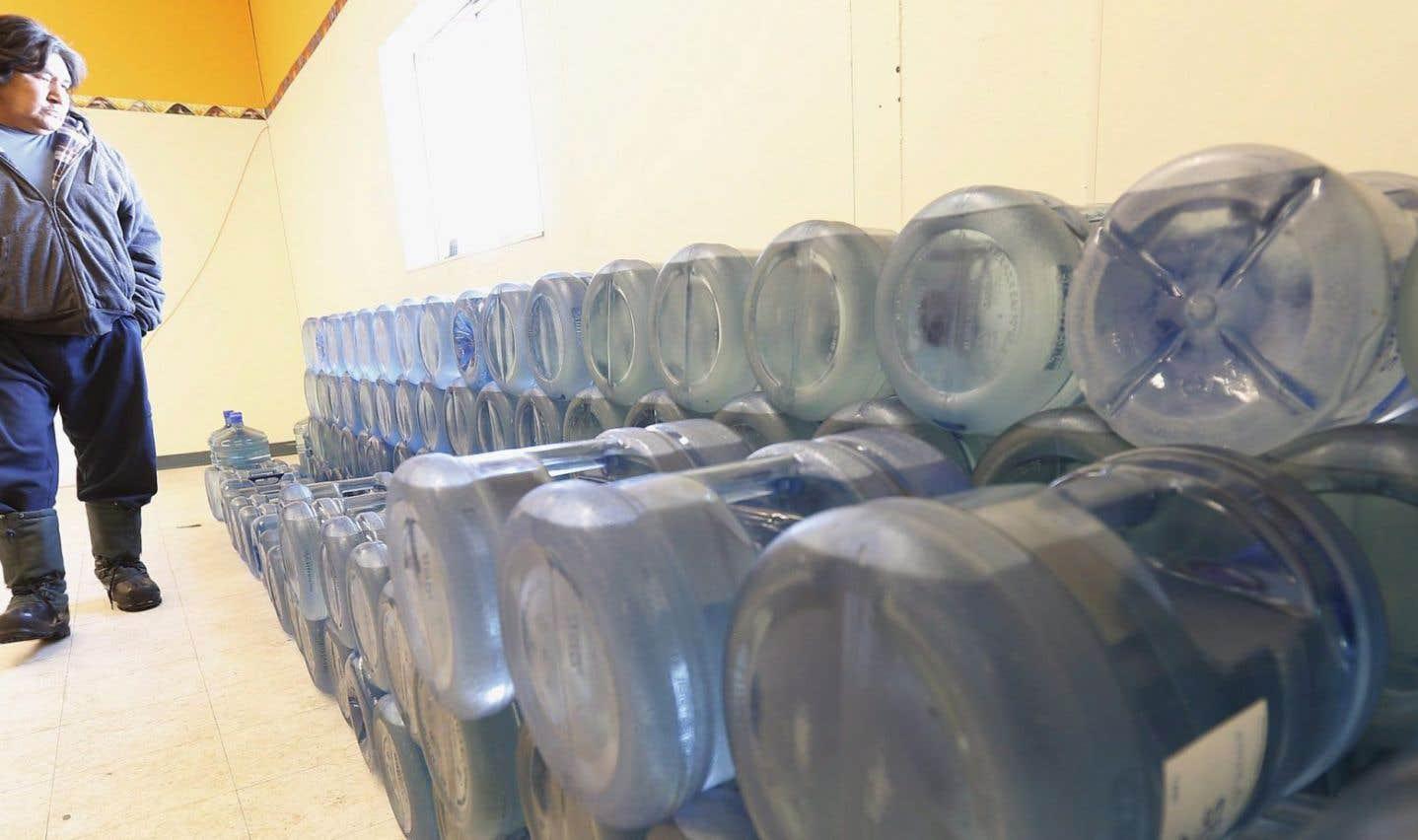 Des problèmes d'eau potable perdurent dans les communautés