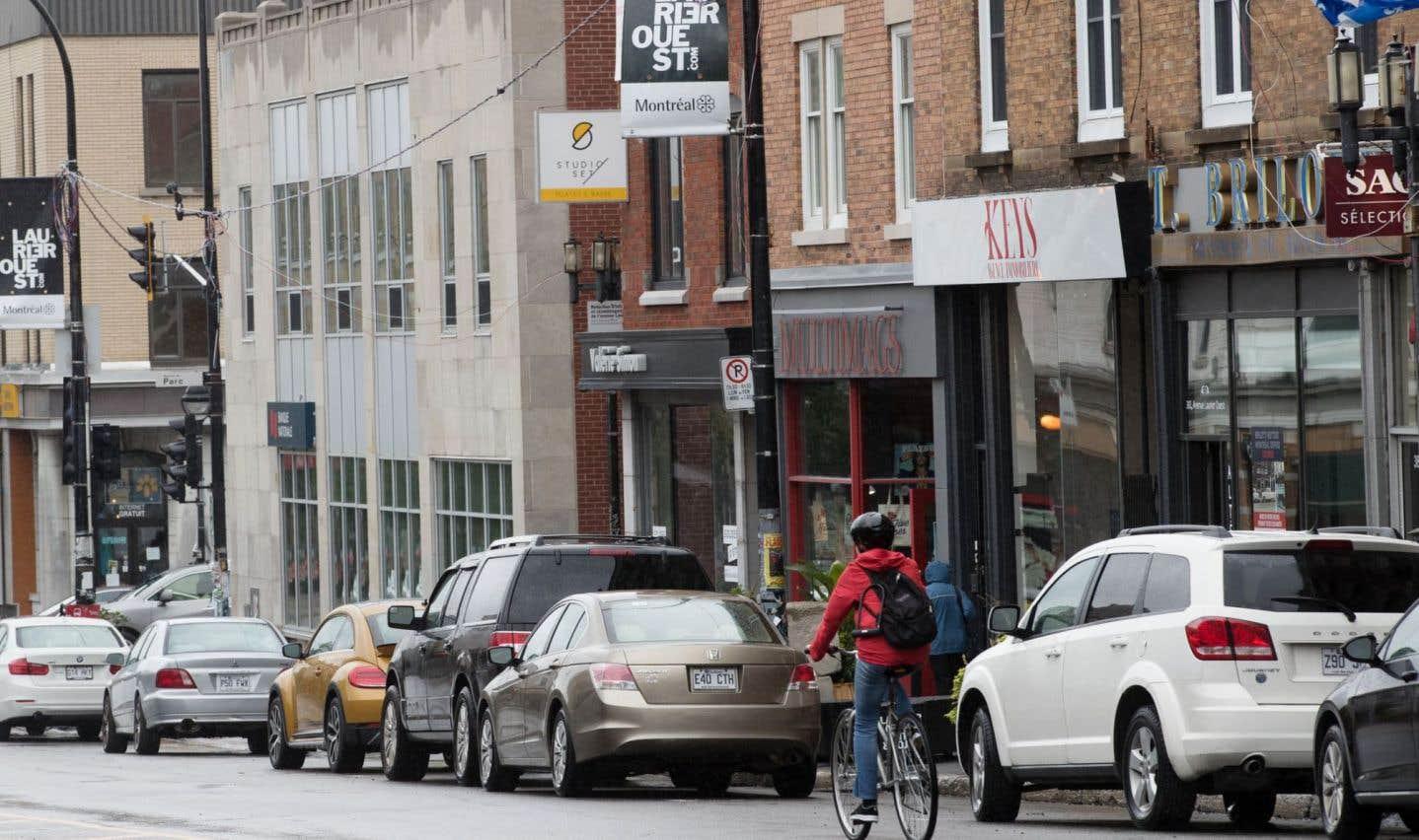 La voie cyclable sur Laurier Ouest retirée des plans