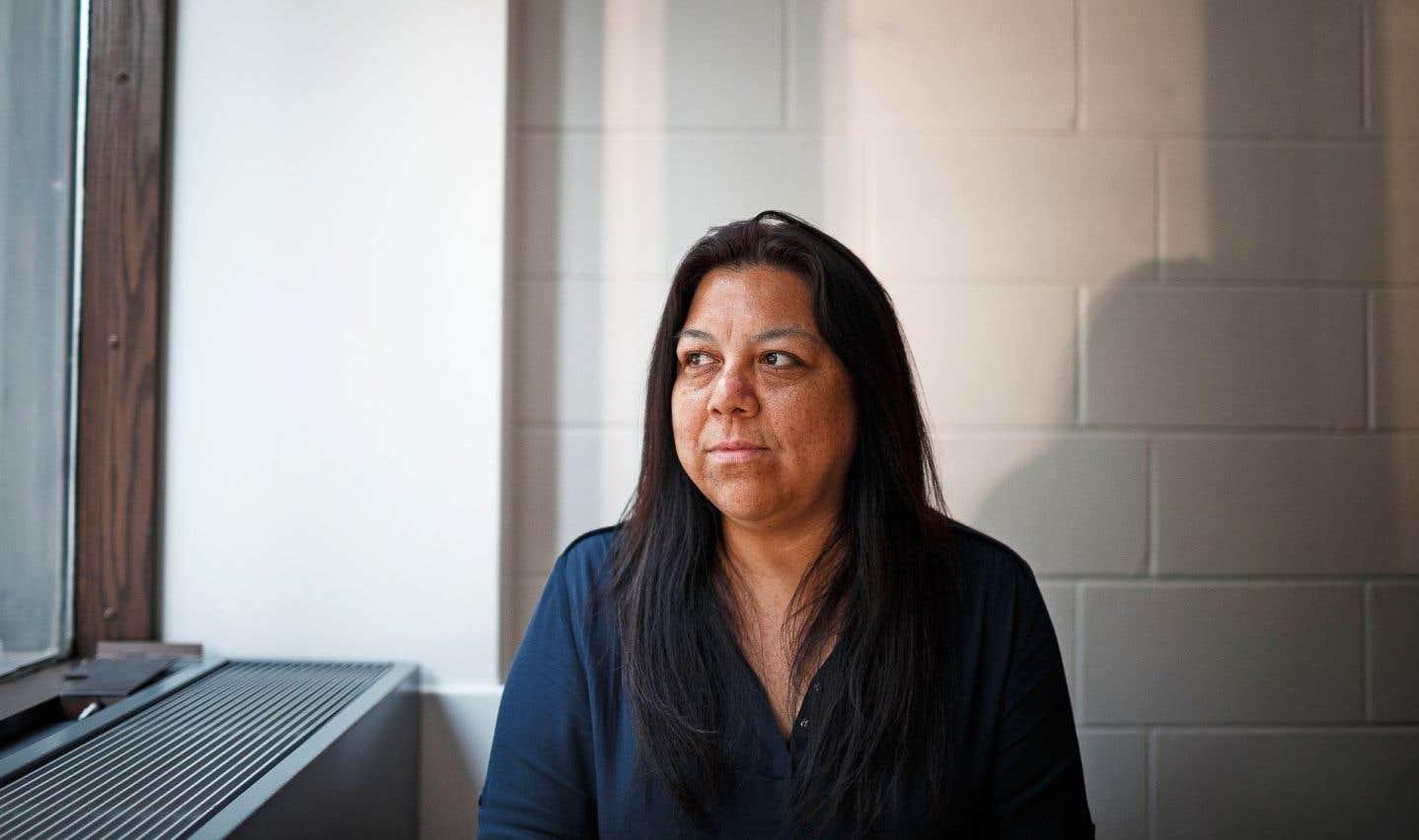 Durant ses longues années d'étude, Janine Metallic a constamment souffert de l'éloignement de sa communauté.