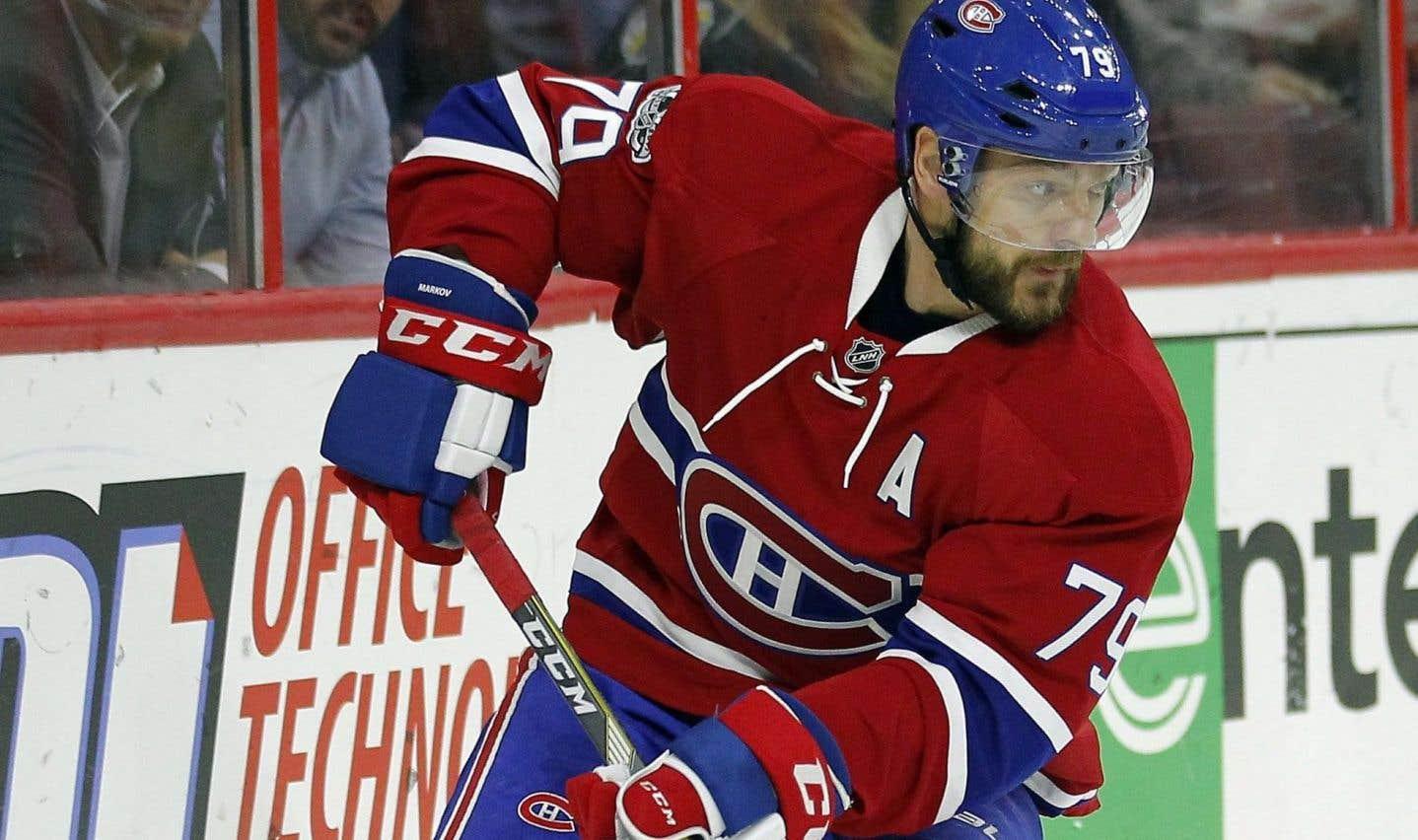 Andrei Markov signe pour deux ans dans la KHL