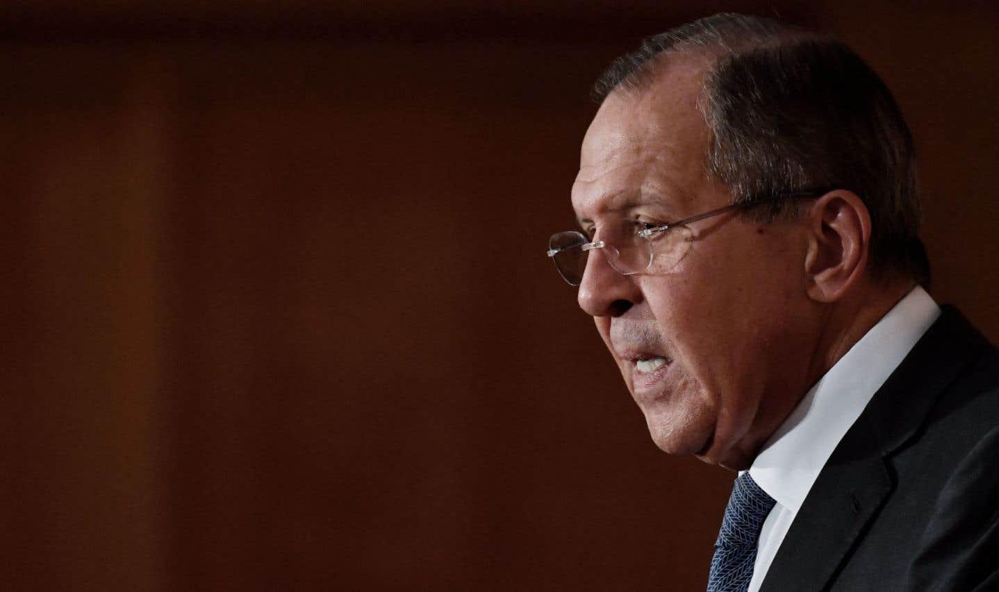 Le ministre russe des Affaires étrangères,Sergueï Lavrov
