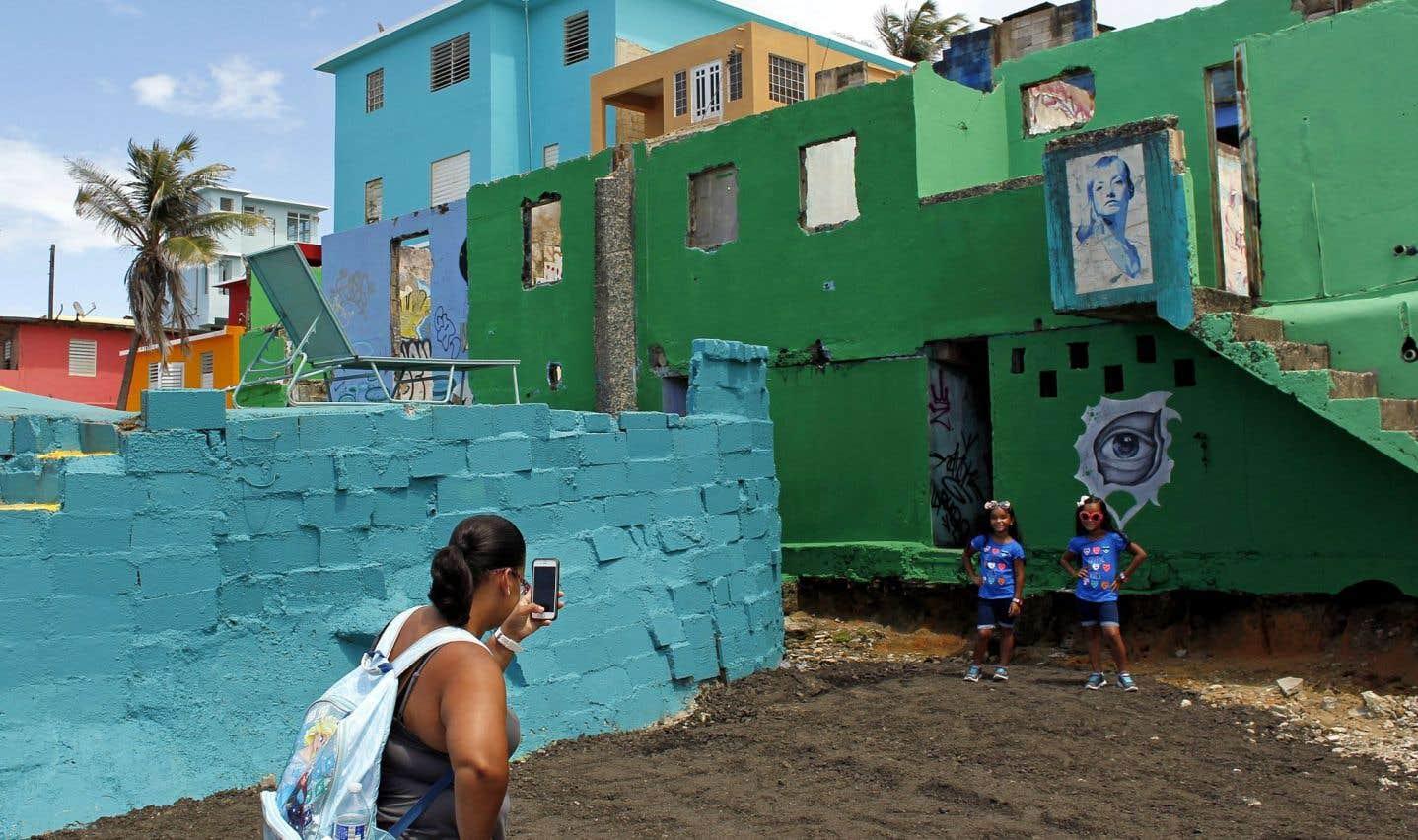 Les touristes sur les traces de «Despacito» dans les quartiers pauvres de Porto Rico