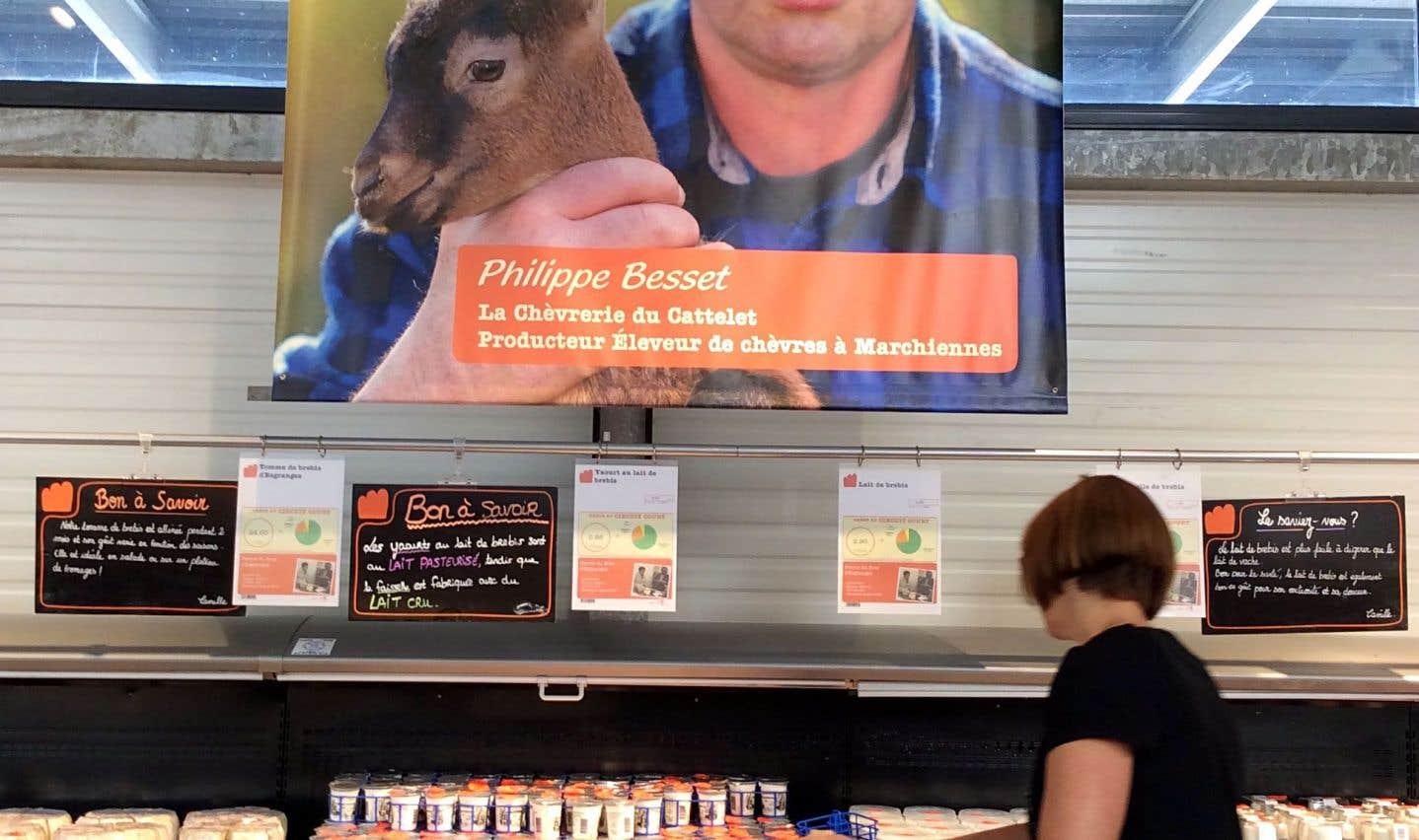La formule réinterprétée du supermarché