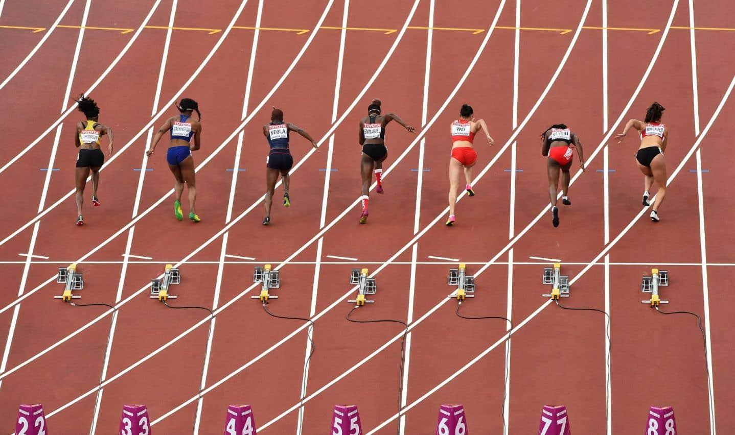 Crystal Emmanuel n'a été devancée que par la Jamaïcaine Elaine Thompson (11,05), championne olympique à Rio en 2016.