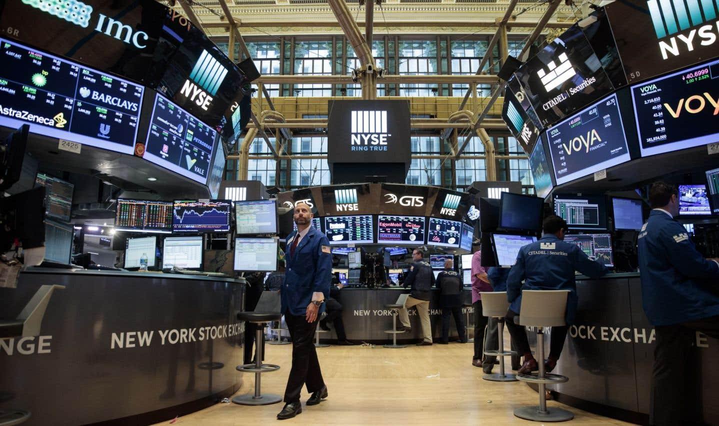 Wall Street en panne de volatilité