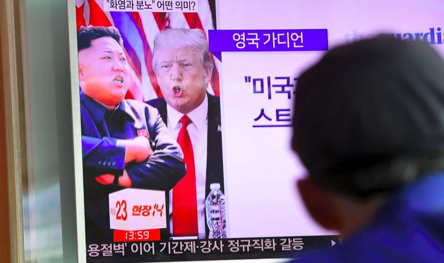 Trump et la Corée du Nord: une rhétorique très risquée, selon des analystes