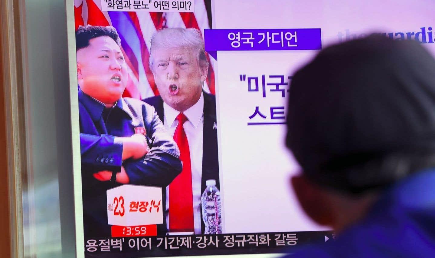 Washington menace de renverser Kim Jong-un