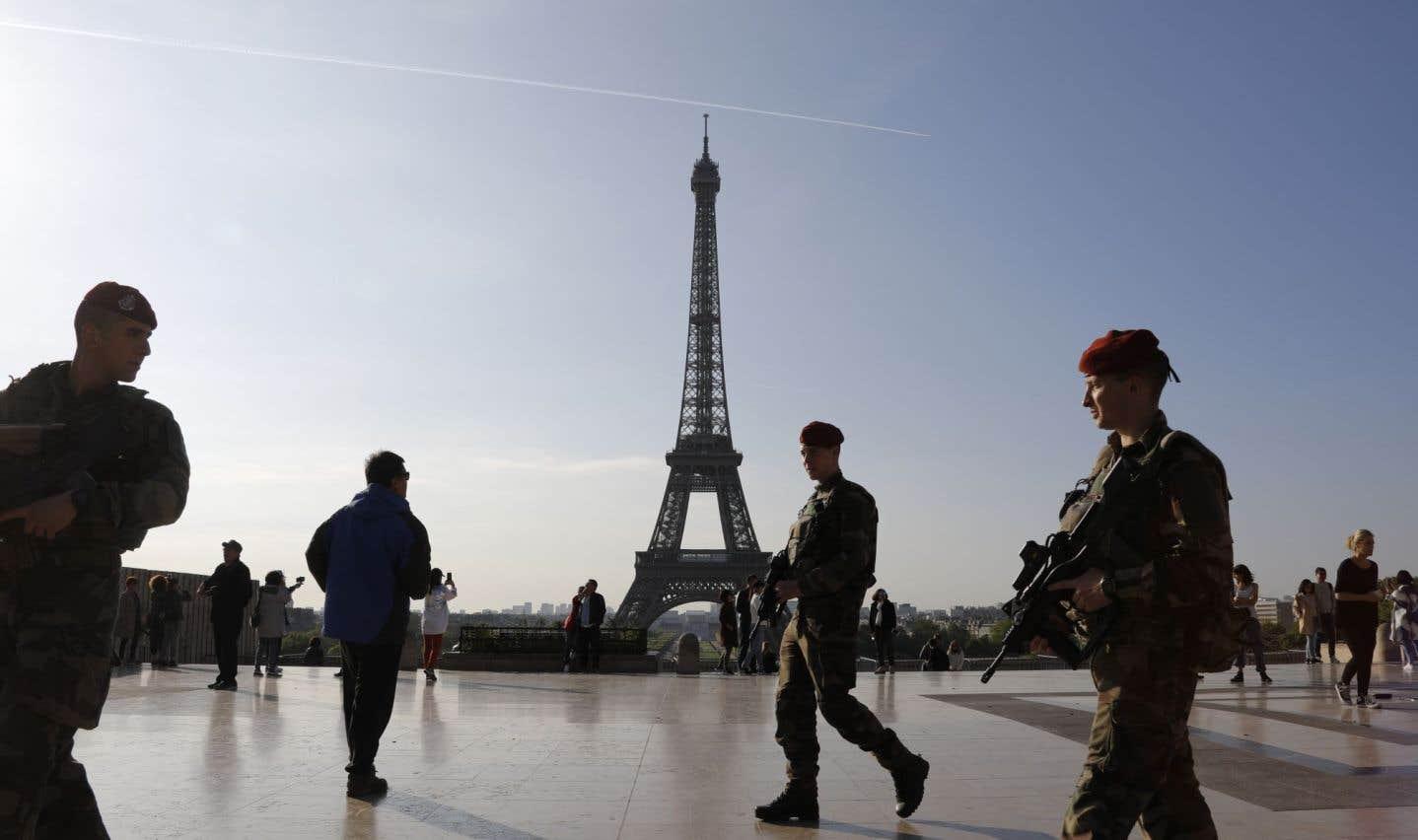 L'opération Sentinelle mobilise 7000 soldats en permanence sur le territoire français.