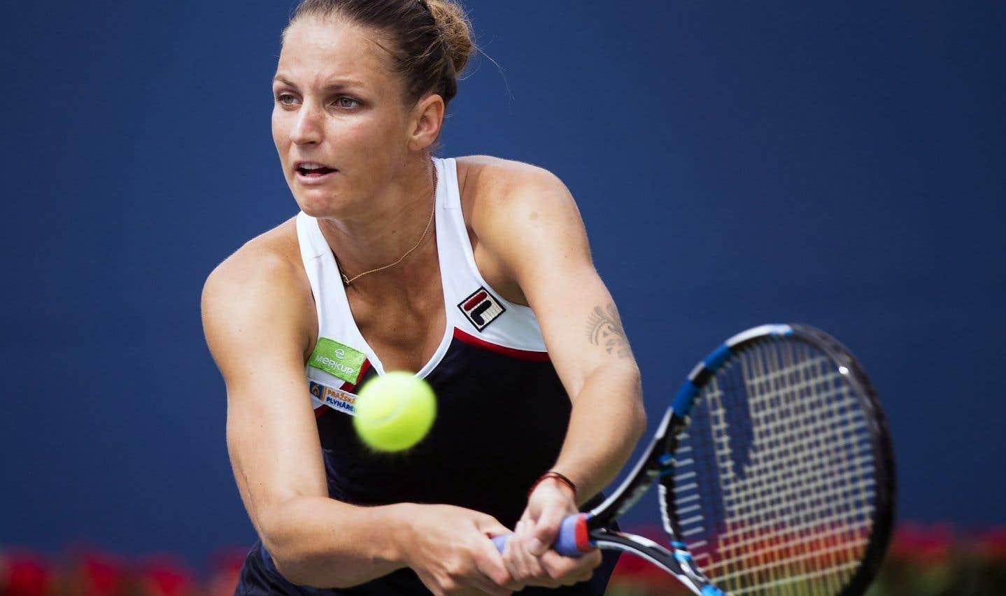 Coupe Rogers: Karolína Plíšková atteint les quarts de finale à Toronto