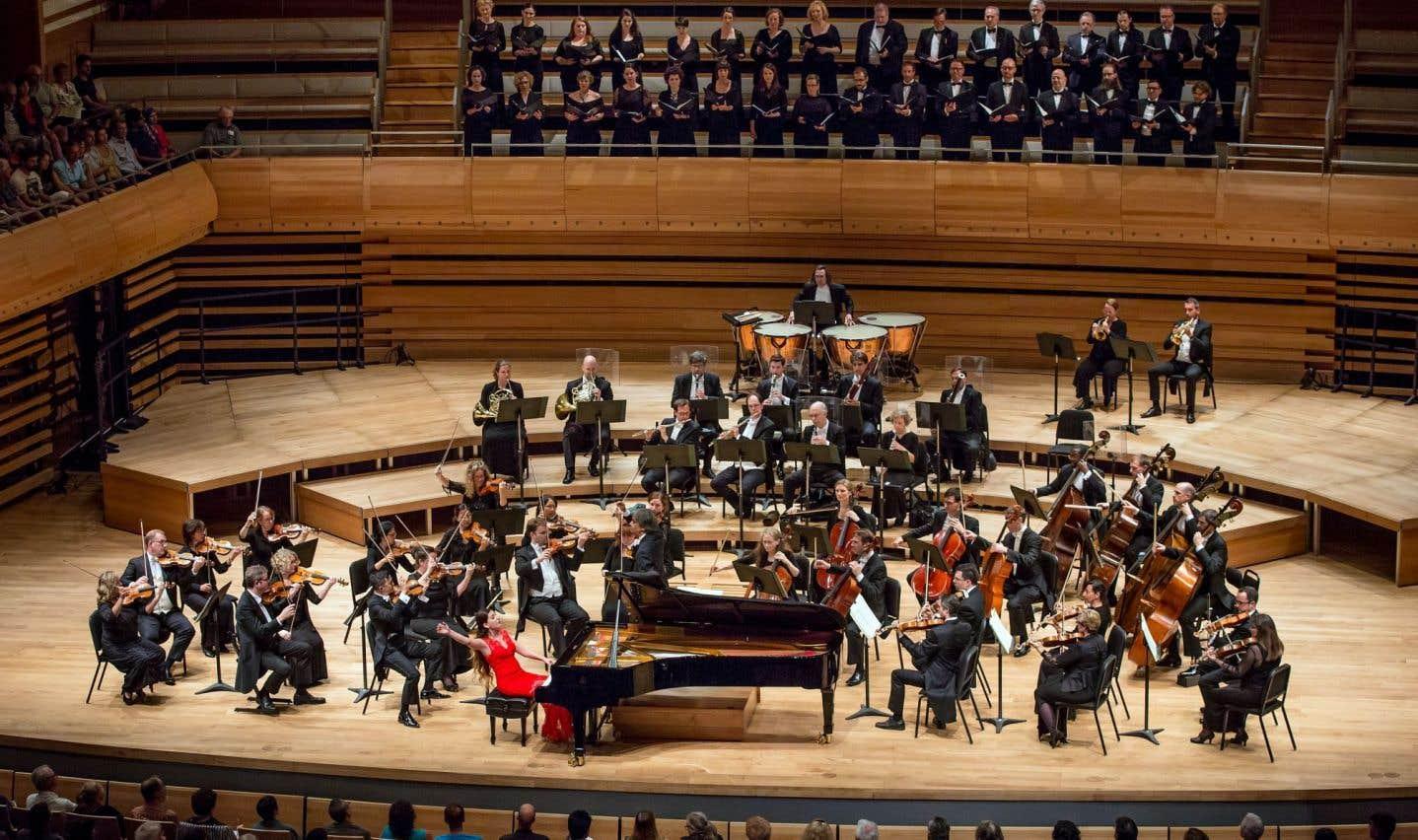 L'héroïne de la soirée fut la pianiste Nareh Arghamanyan. On n'attendait pas un tel niveau de finesse, de dialogue et de finition dans une œuvre aussi pointue de Beethoven de la part de la pianiste arménienne, qui remplaçait Till Fellner à une semaine d'avis.