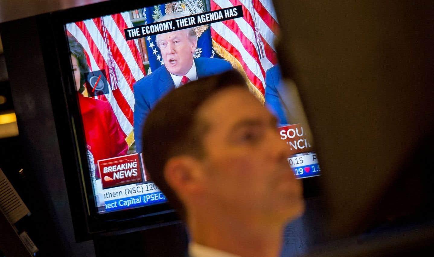 Wall Street semble s'inquiéter de la tempête politique à Washington