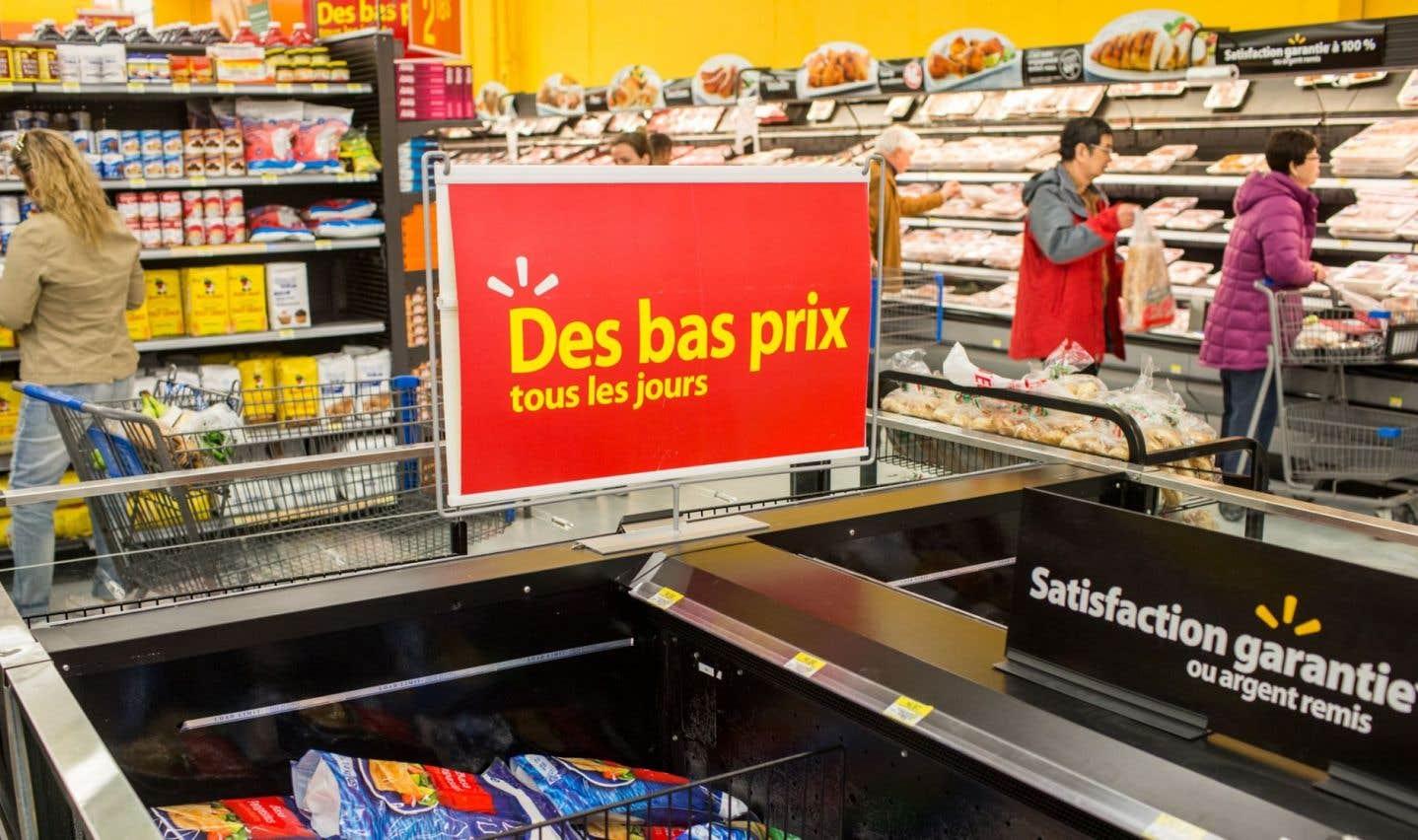 Wal-Mart dit avoir gagné des parts de marché au Canada