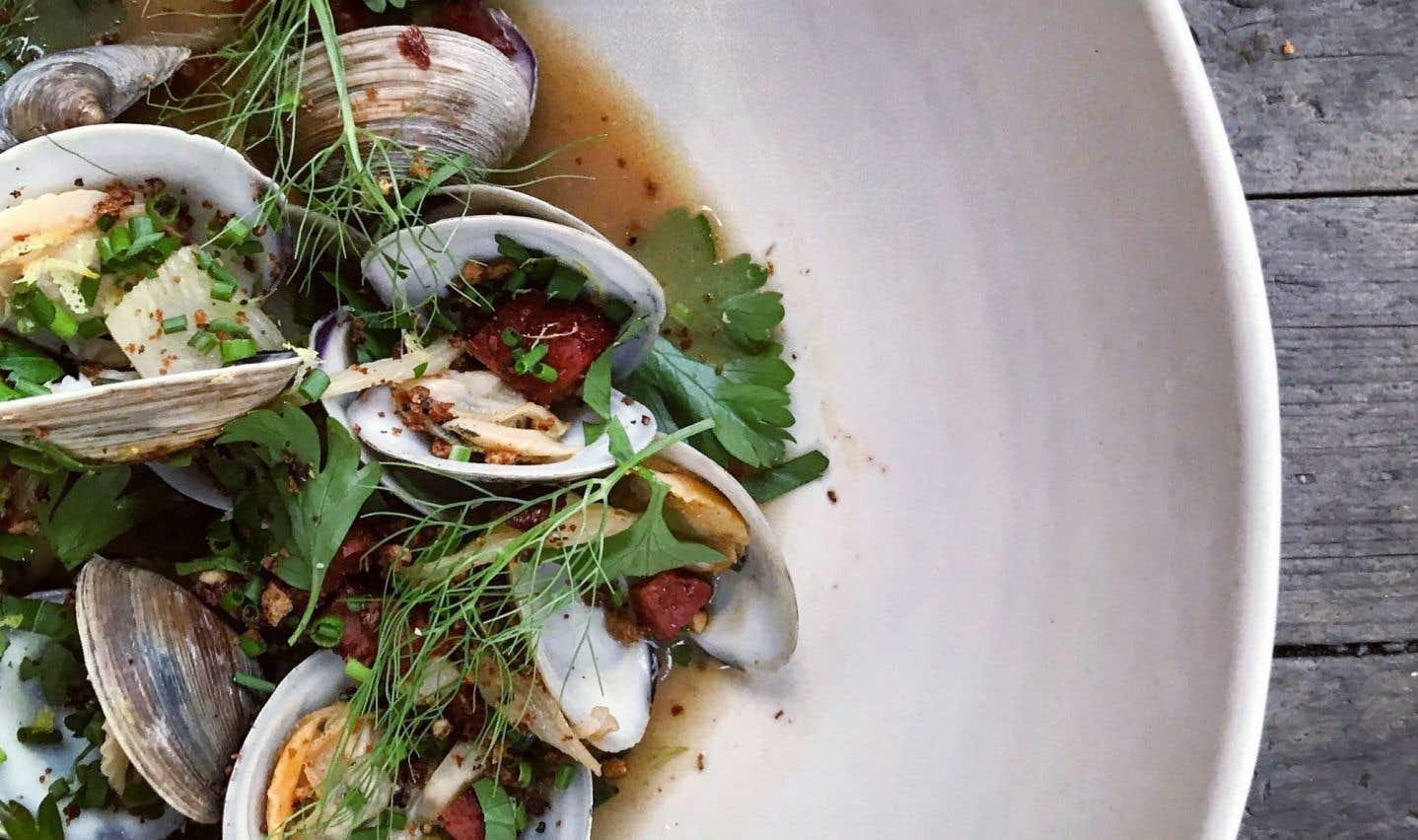 La recette de palourdes à la pancetta et à la bière de Michael Tozzi, ex-chef chez Olive & Gourmando