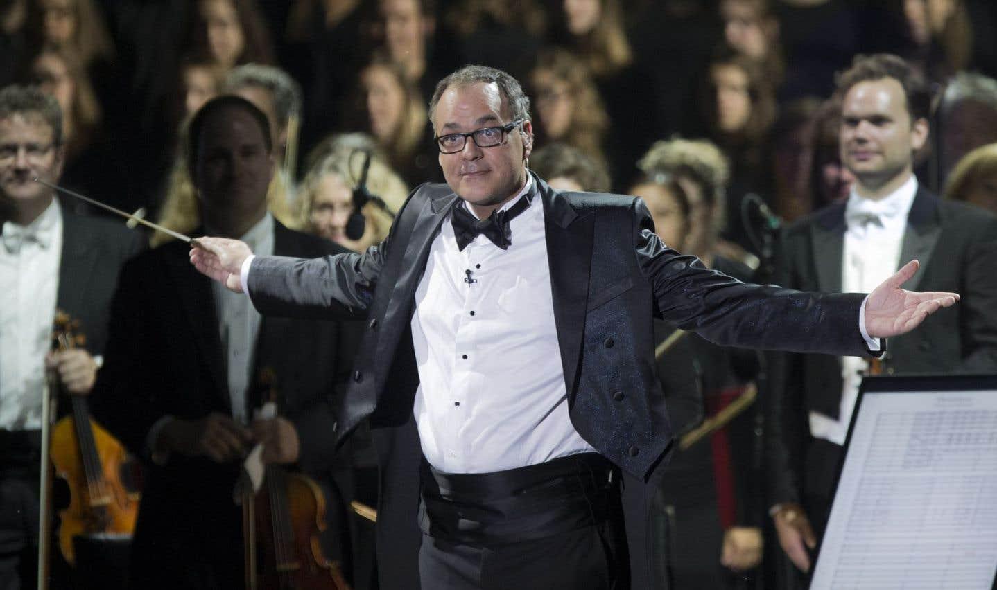 Le chef d'orchestre Simon Leclerc.