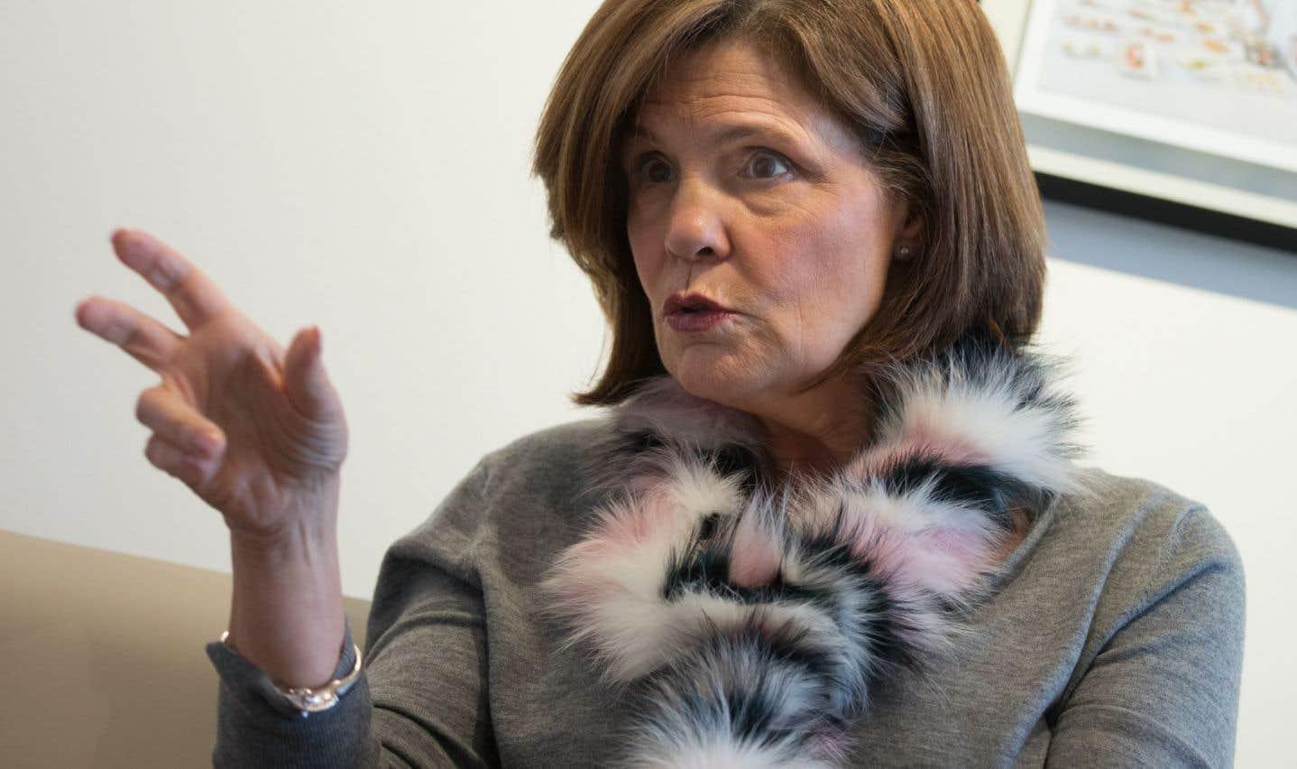 «On sait qu'on ne peut pas demander la lune», dit Liza Frulla, qui a été ministre de la Culture à Québec et à Ottawa.