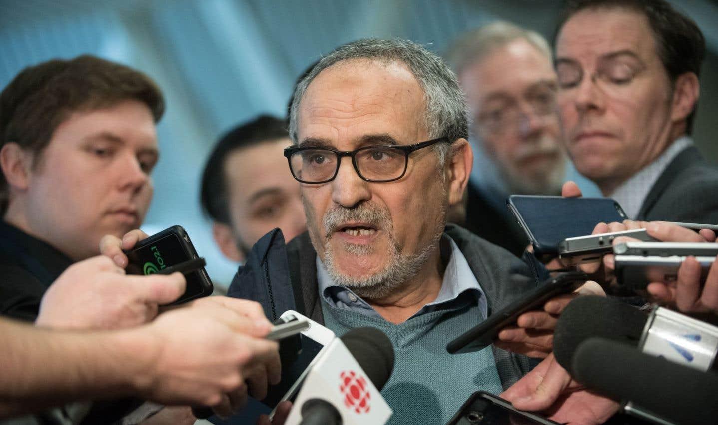 La classe politique québécoise s'émeut après le crime commis contre un leader musulman