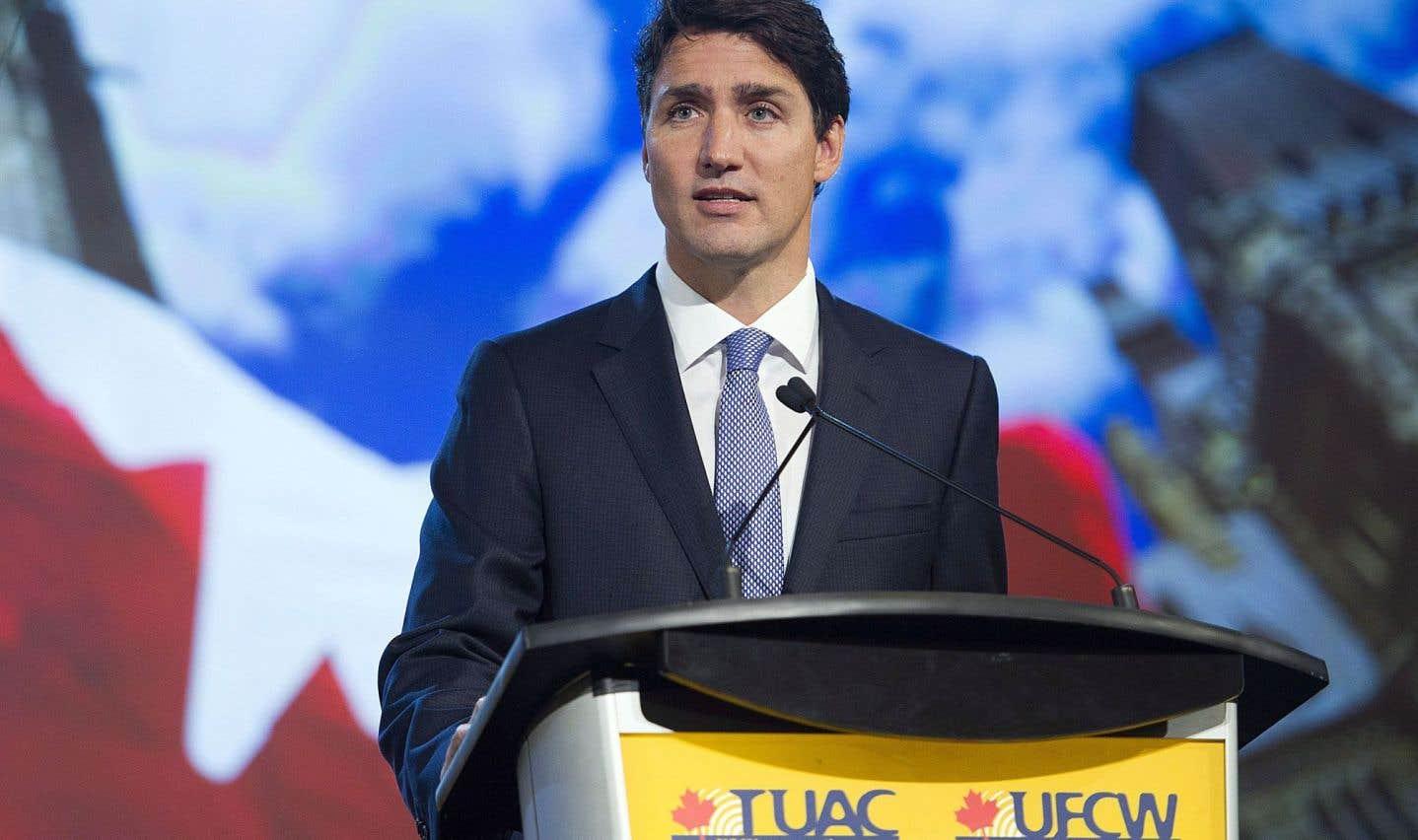 ALENA: Justin Trudeau promet un accord équitable pour les travailleurs