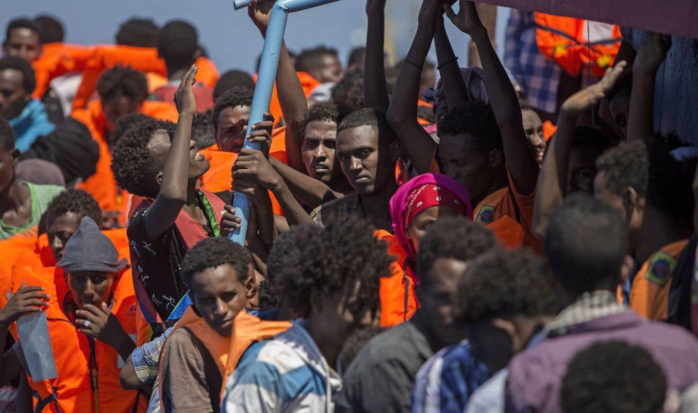La Gambie, plus petit pays d'Afrique continentale, a le plus haut taux de migrants traversant la Méditerranée par habitant, selon l'OIM.