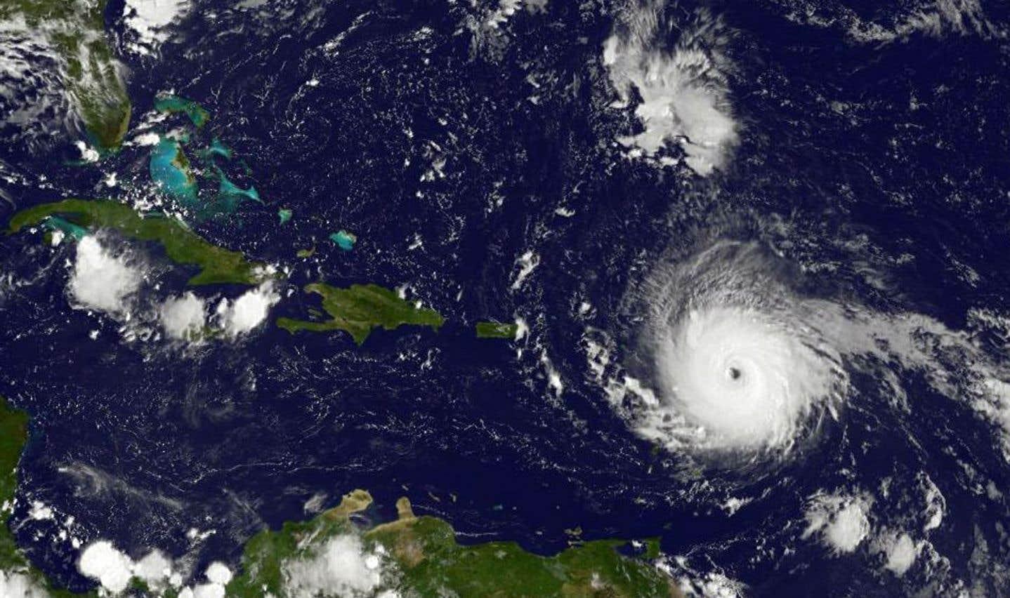 «Irma» se renforce en ouragan de catégorie 5