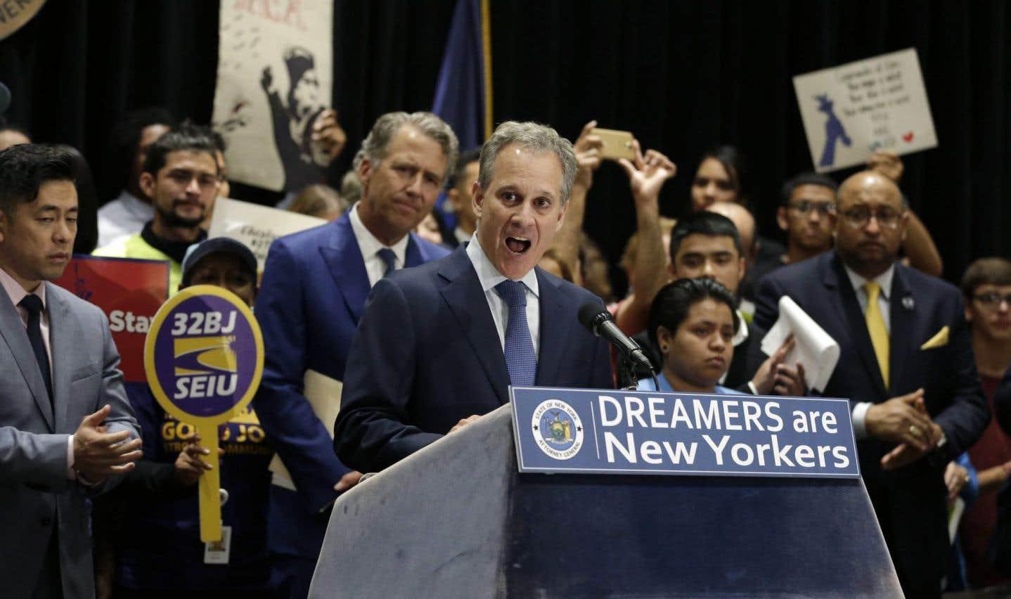 15 États contestent la fin du programme des «Dreamers»