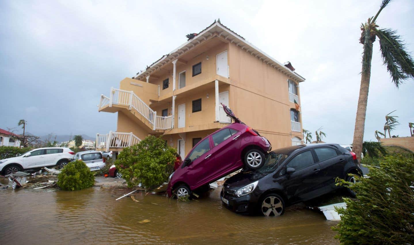L'ouragan «Irma» poursuit son oeuvre de destruction