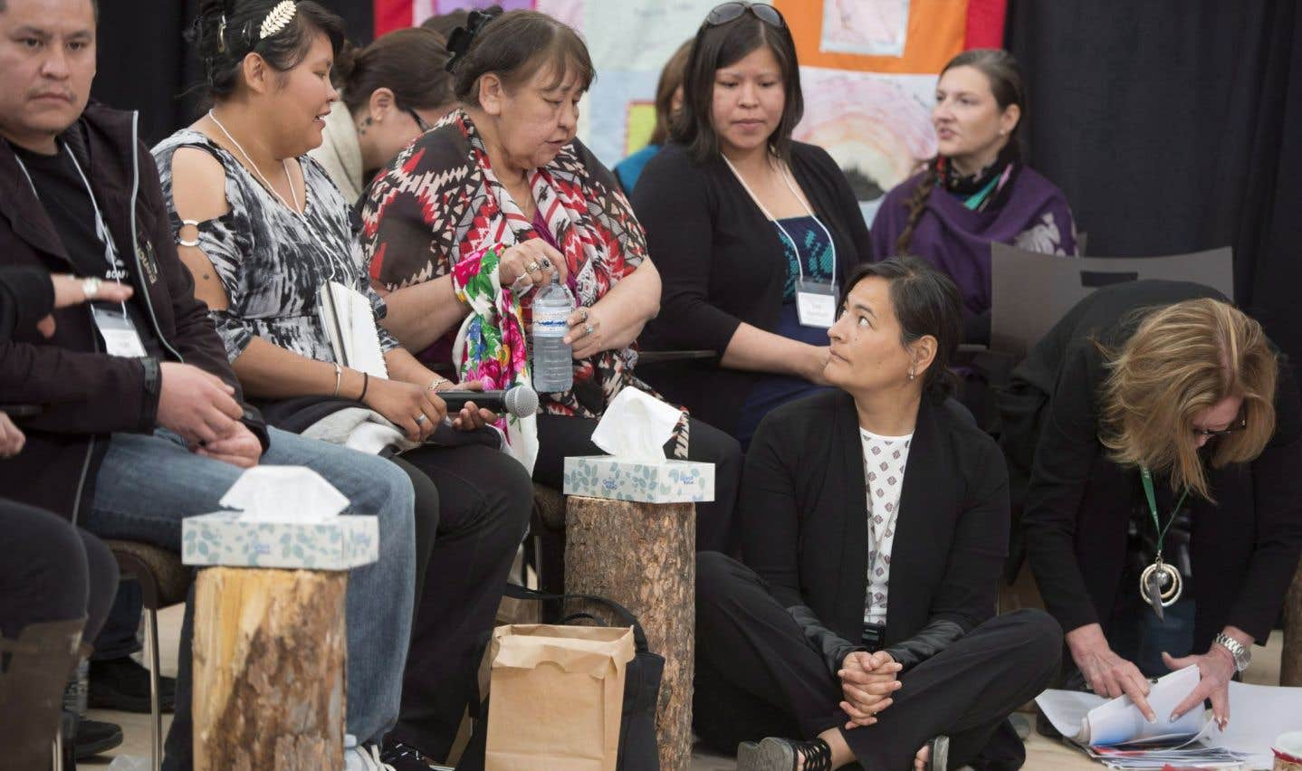 La commission sur les femmes autochtones en panne de leadership