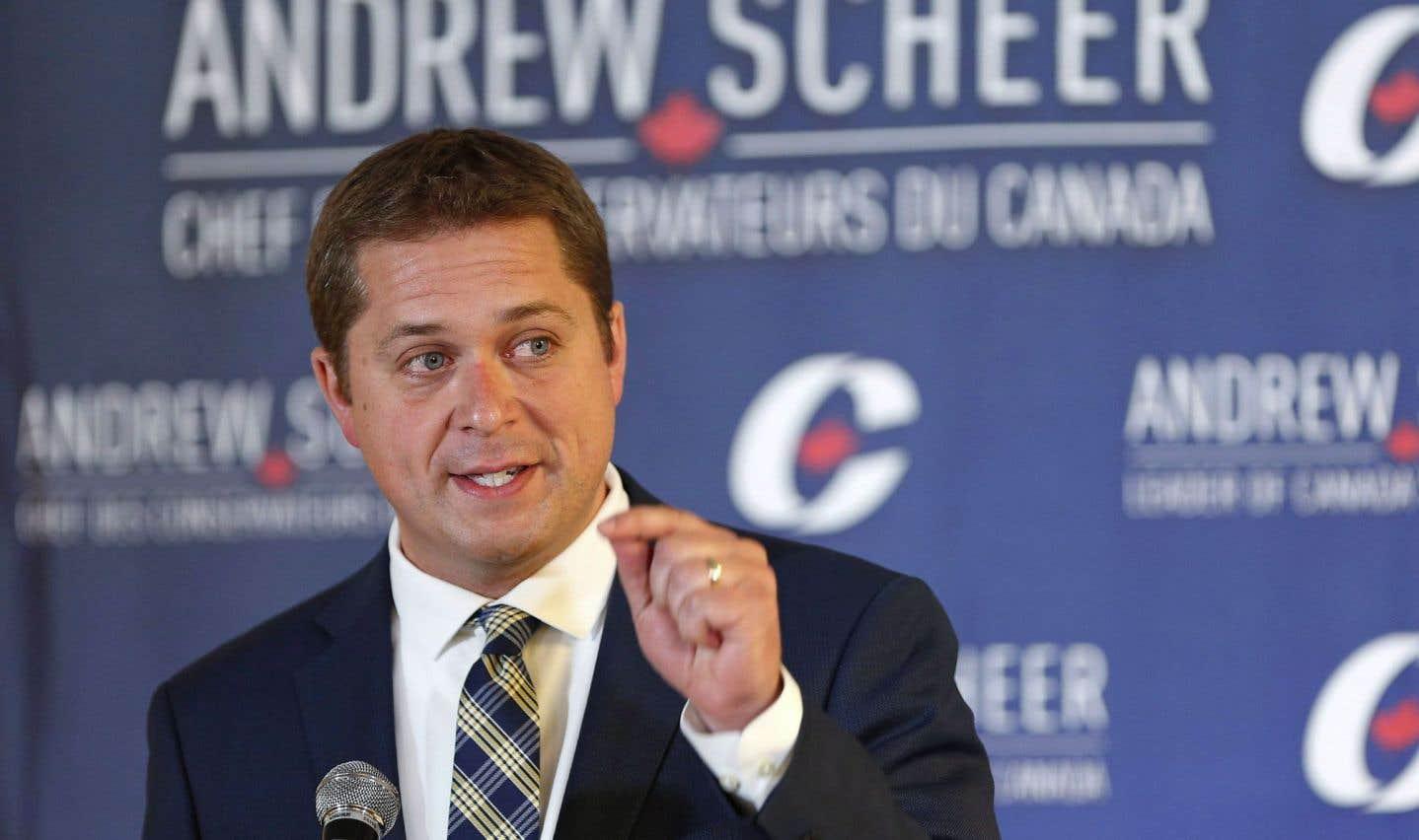 Andrew Scheer dénonce la réforme fiscale proposée par les libéraux
