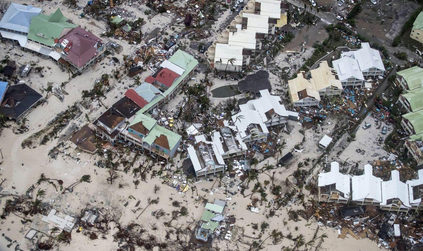 Un chapelet d'îles soufflées par l'ouragan
