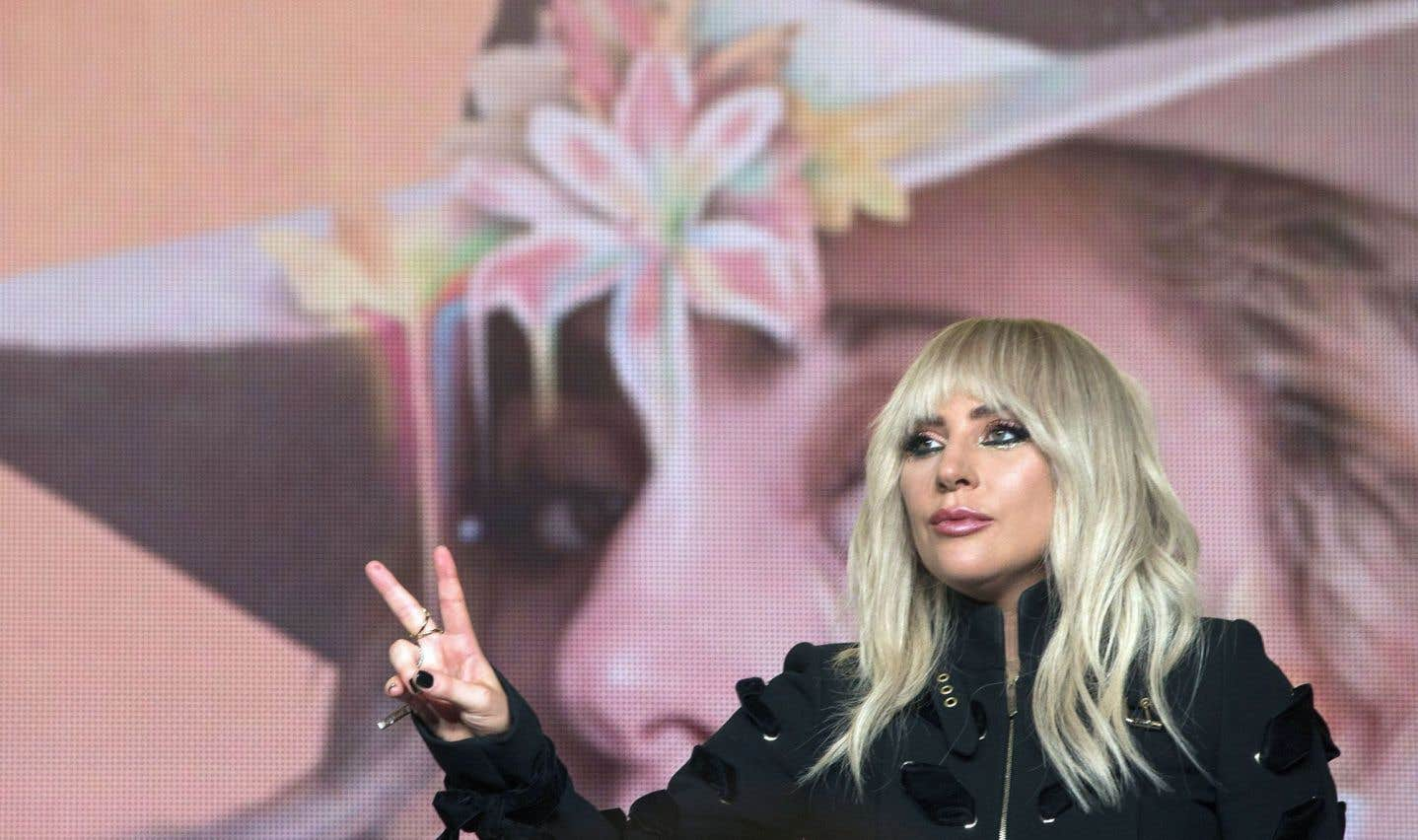 Lady Gaga a rencontré la presse, vendredi, au Festival international du film de Toronto.