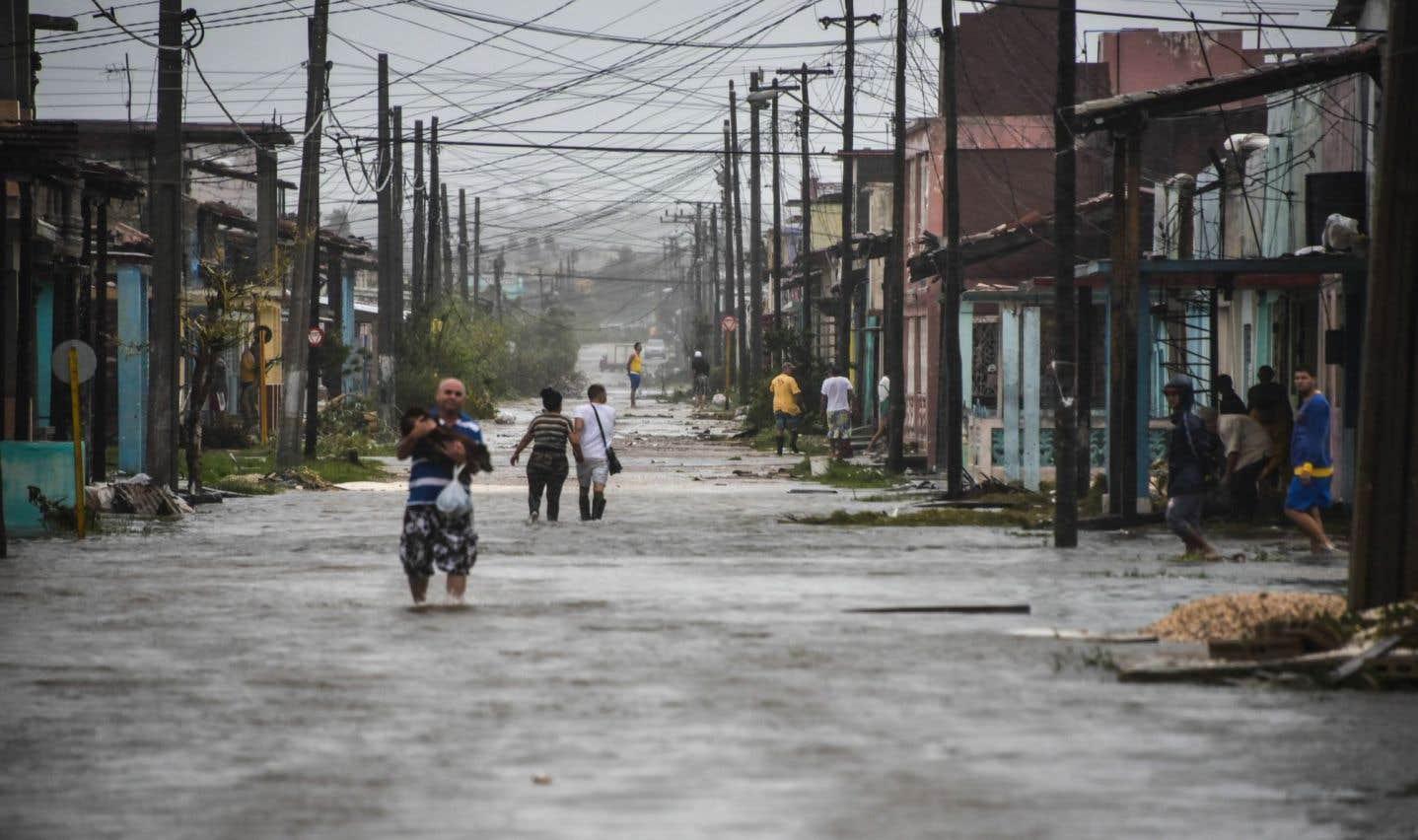 Le centre et l'est de Cuba ont été durement touchés par l'ouragan «Irma».