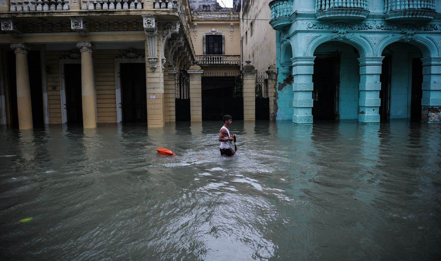 À Cuba, l'ouragan «Irma» est arrivé dans la nuit de vendredi à samedi en catégorie 5 (la plus élevée) avant d'être rétrogradé en catégorie 4 puis 3.