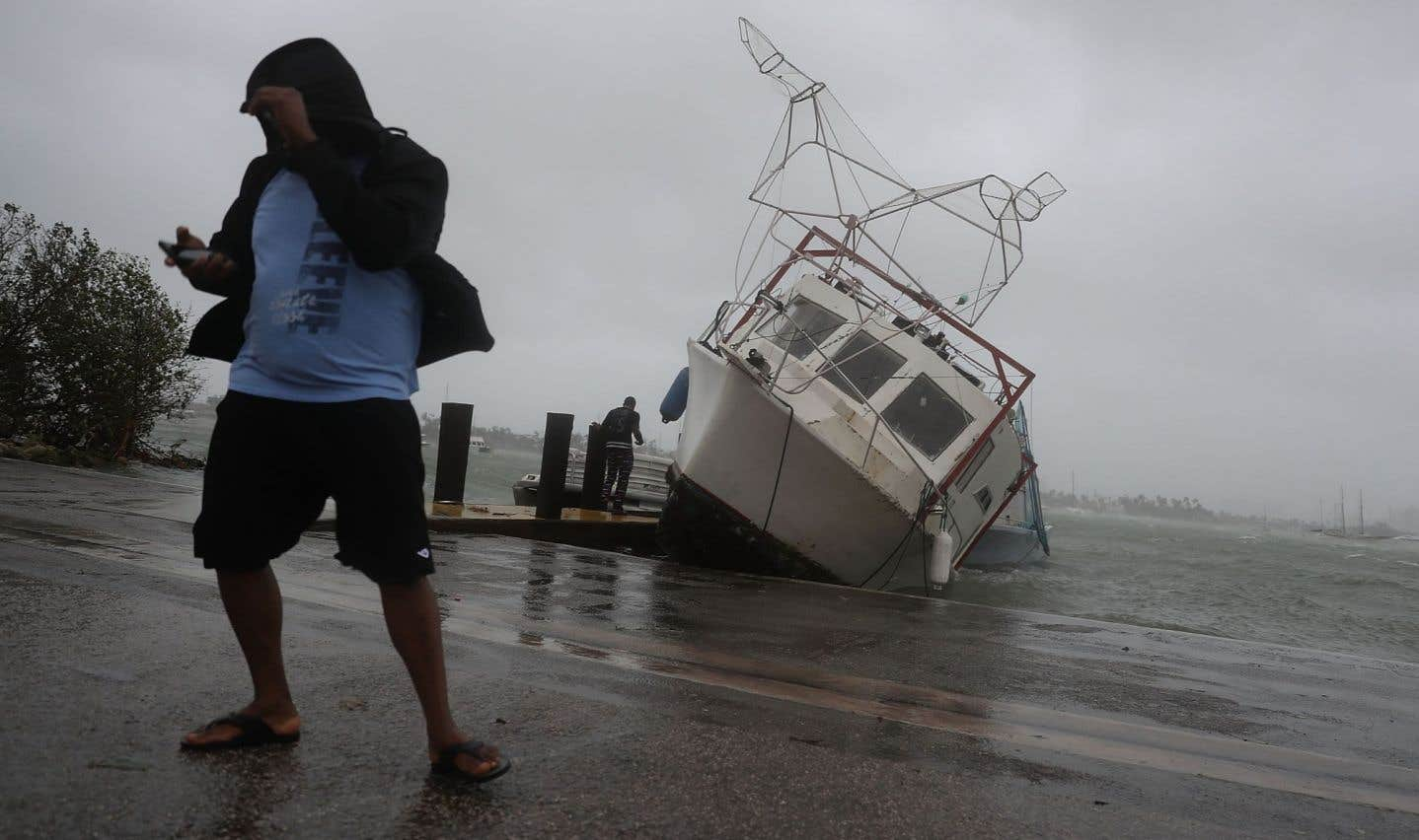 L'ouragan «Irma» a poursuivi sa route destructrice dimanche en atteignant la Floride.