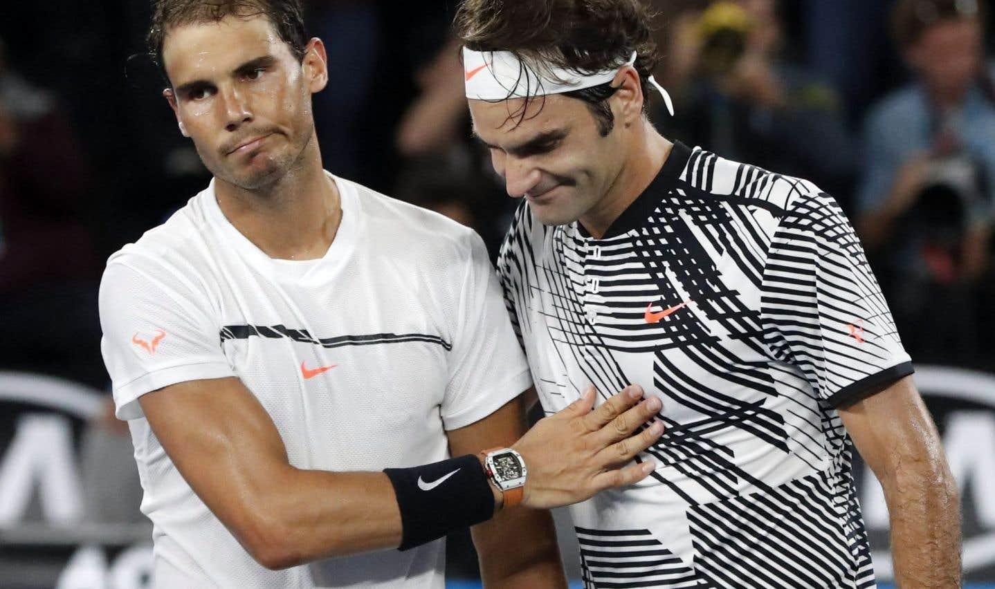 Nadal et Federer de retour au sommet du tennis masculin