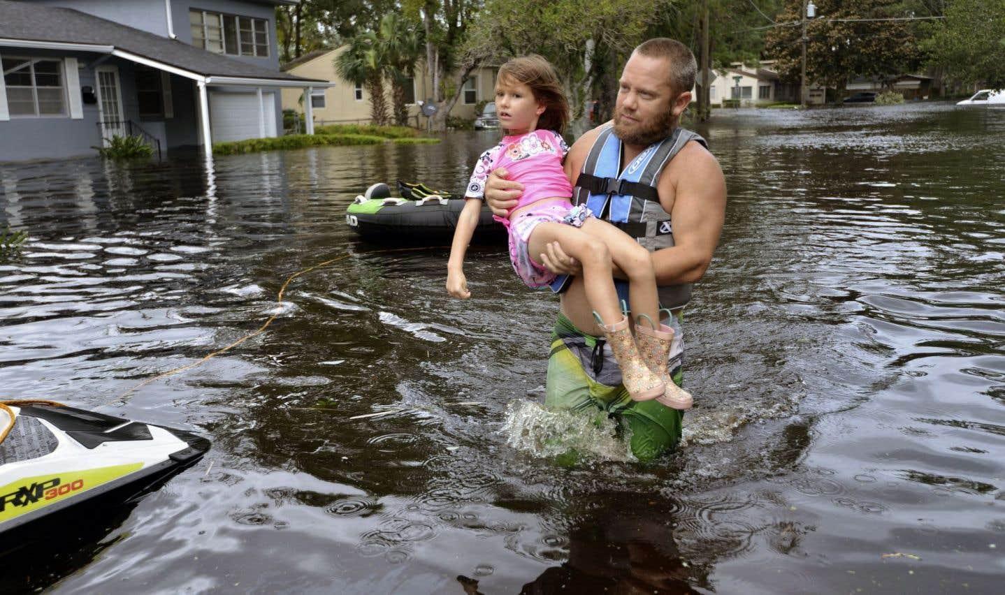 Prendre la mesure des dégâts d'«Irma»