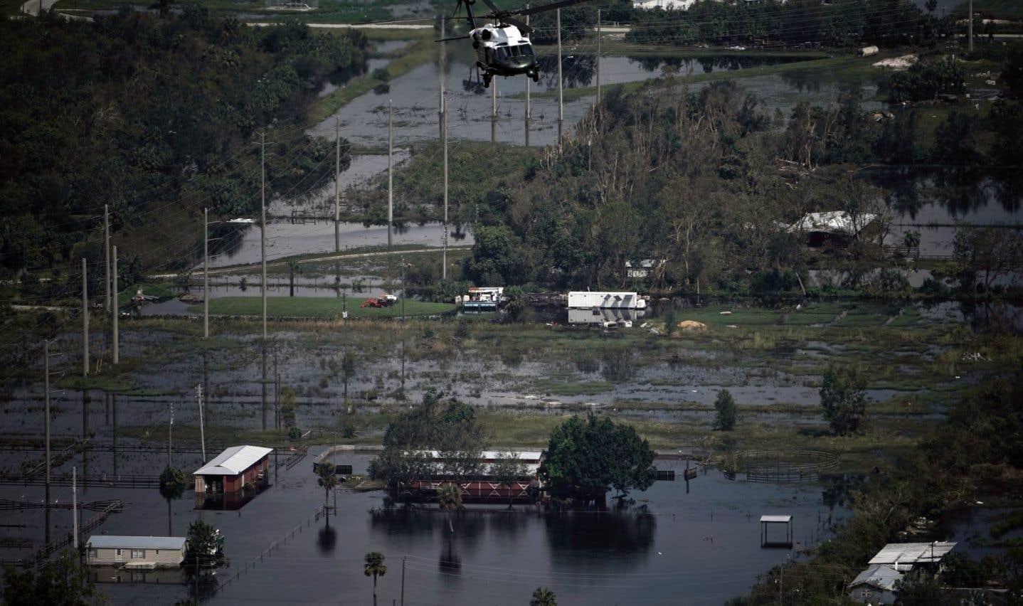 Donald Trump en Floride après «Irma»