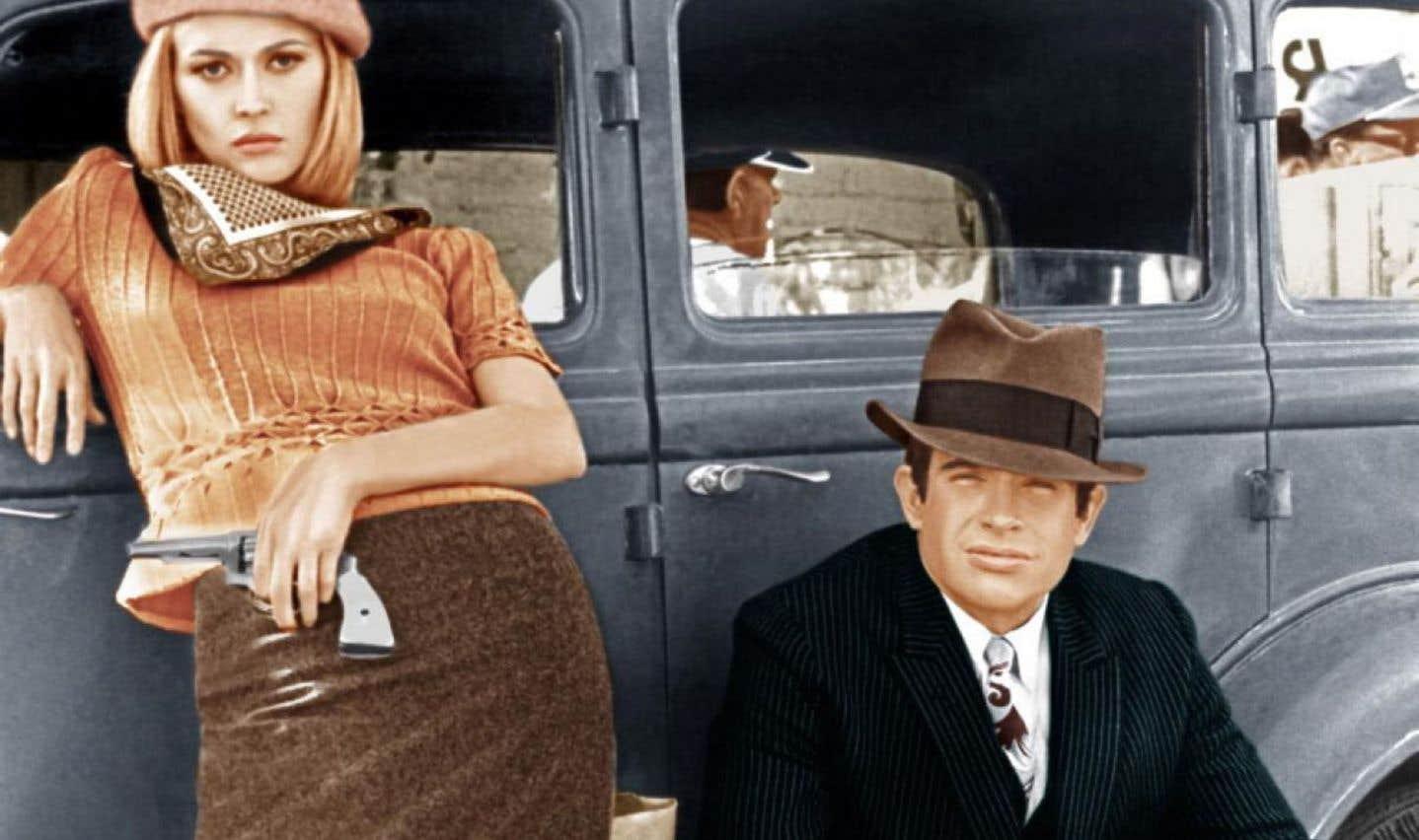 Faye Dunaway et Warren Beatty dans le film mythique